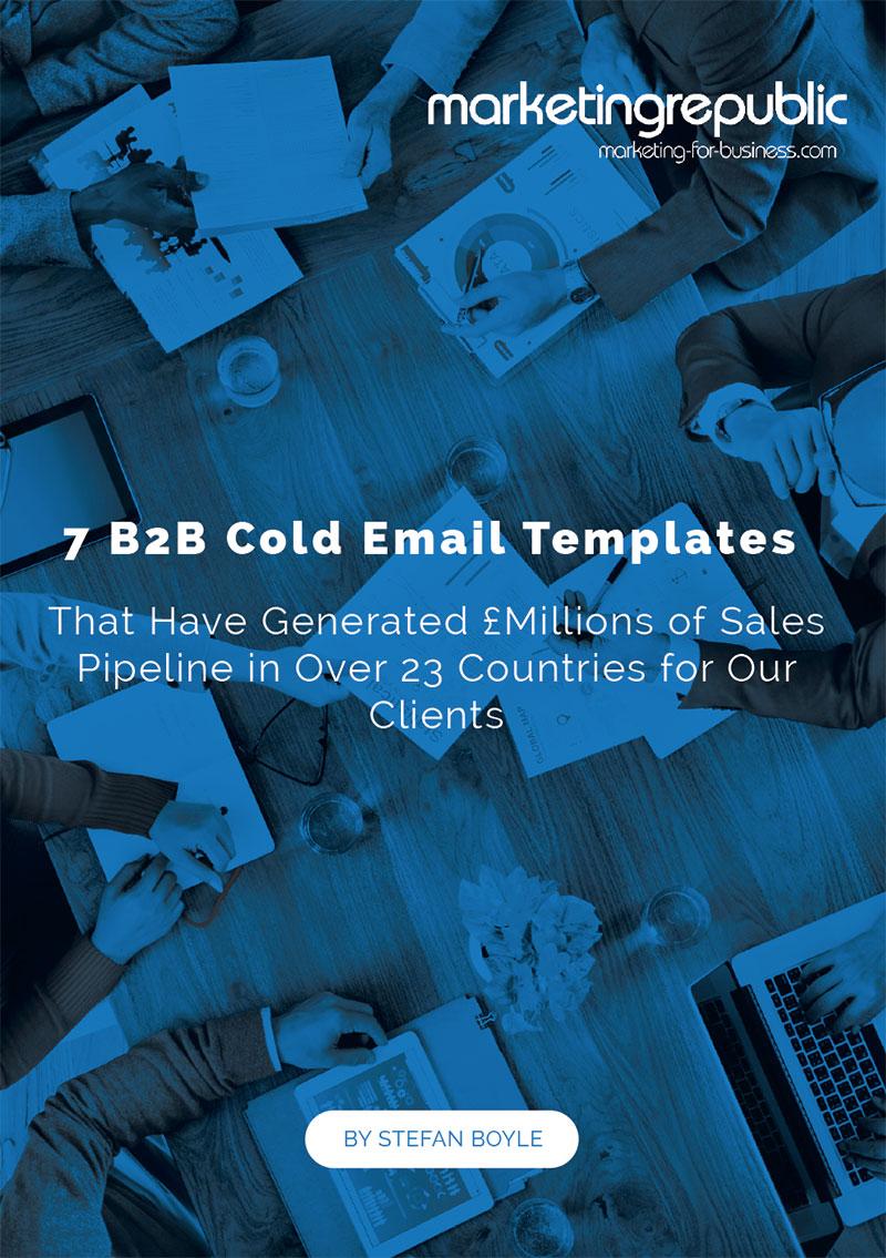 外贸开发信电子书:7个B2B开发信模板——在23个国家/地区创造了数百万英镑的销售