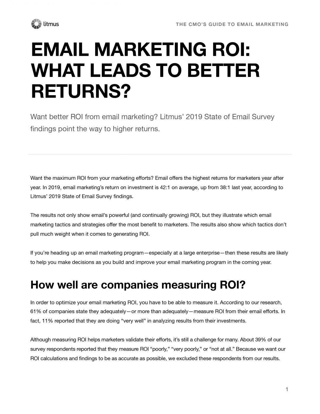 外贸开发信电子书:什么可以让电子邮件营销的回报率变得更高?