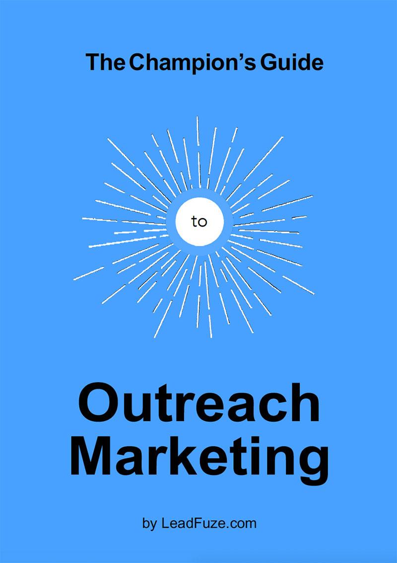 外贸开发信电子书:推广营销(Outreach Marketing)之冠军指南