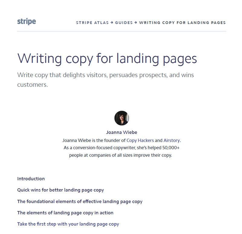 外贸开发信电子书:如何利用独立站landing page文案写作技巧来帮助你的外贸开发信