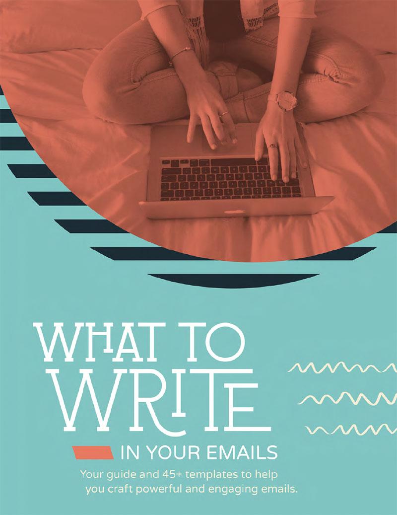 外贸开发信电子书:What to write in your email? 45+个邮件模板帮助你写出强大且迷人的邮件
